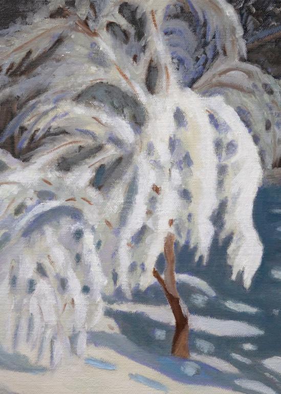 Snowed Under Art | Pearl White Studio