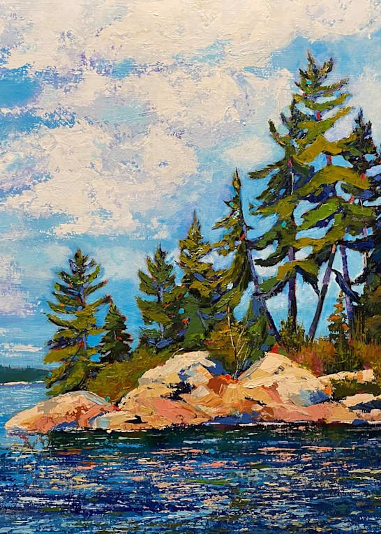 Morning Paddle (Print) Art   Marissa Sweet