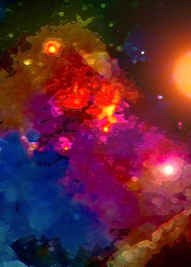 Abstract Space Art | Don White-Art Dreamer