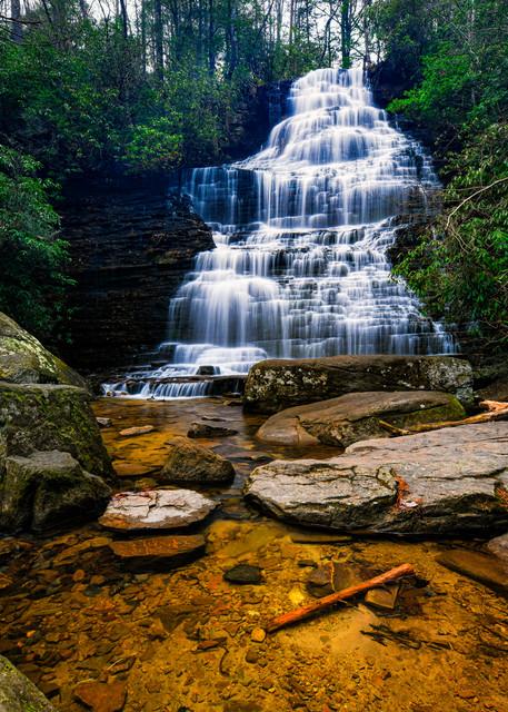 Benton Falls on Rock Creek - Smoky Mountains waterfalls fine-art photography prints