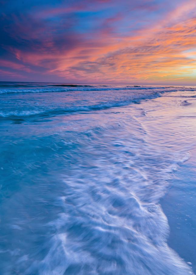 Seaside Sunset Photography Art | kramkranphoto