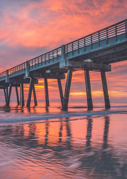 Jax Beach Pier Pressure Photography Art | kramkranphoto