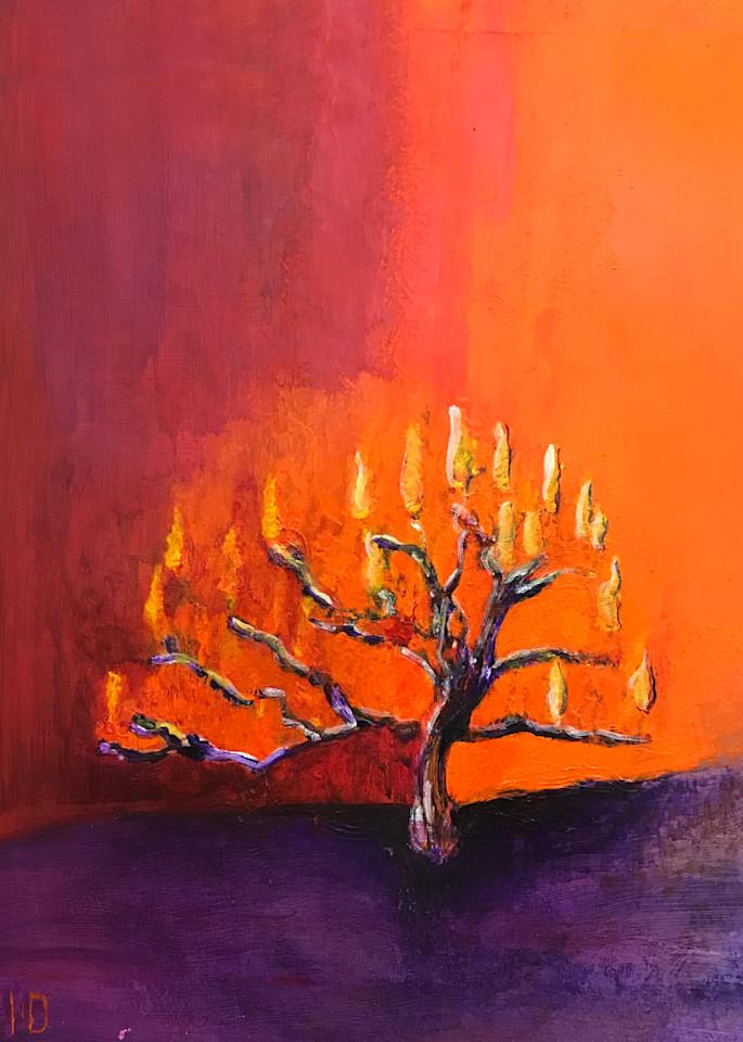 BURNING BUSH - PRINT - ANNE REID ARTIST