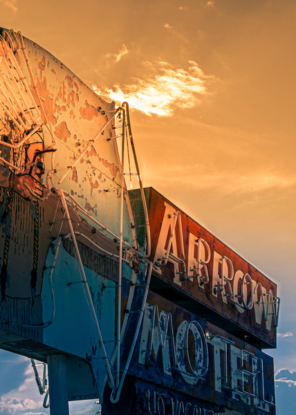 The Arrow Motel Photography Art | Harry John Kerker Photo Artist