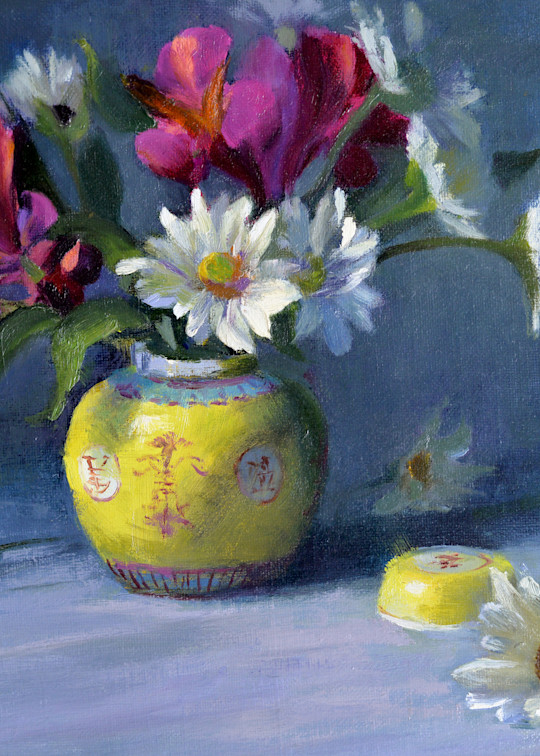 Daisies and Chinese Bowl