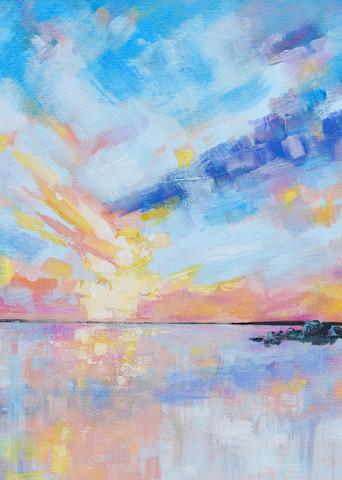 Giclee Print Sullivan's Island Sunset