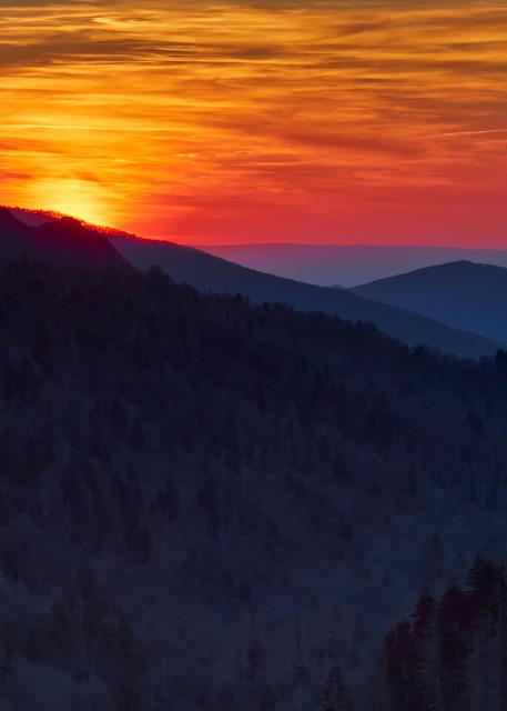 Newfound Gap Sunset