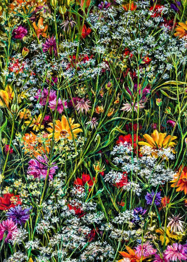 Secret Garden 2 Art | Channe Felton Fine Art