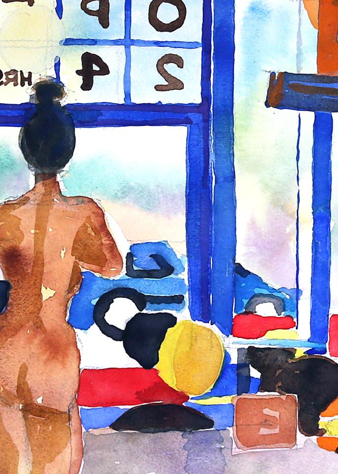 Cafe Ii Art | Courtney Miller Bellairs Artist