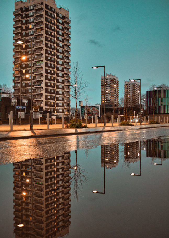 North Woolwich Reflection Art | Martin Geddes Photography