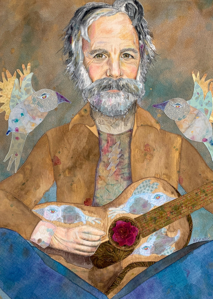 Bob Weir Saint Of Circumstance Art | Karen Payton Art