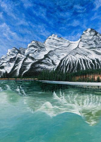Glacier Mountains, Hidden Lake