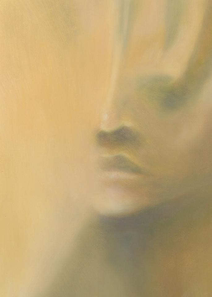 Figurative minimalist painting print by Marsha Gray Carrington