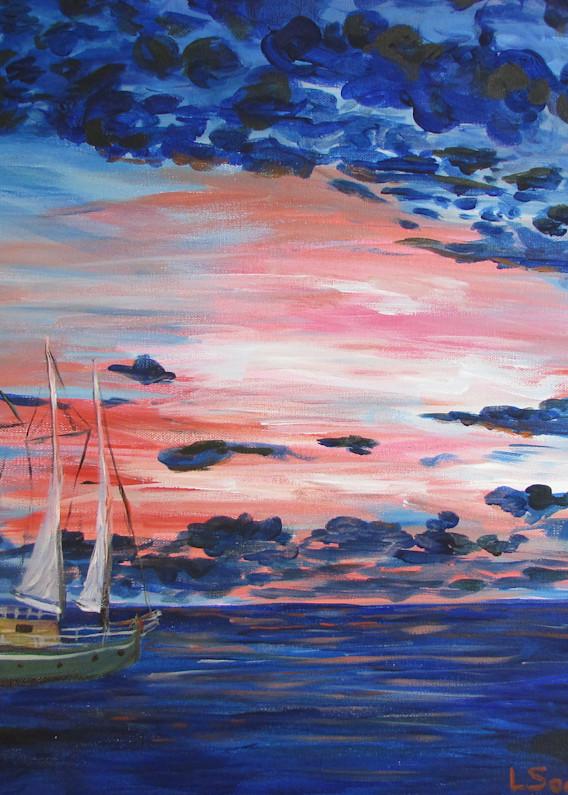 Sailors Delight Art   Linda Sacketti