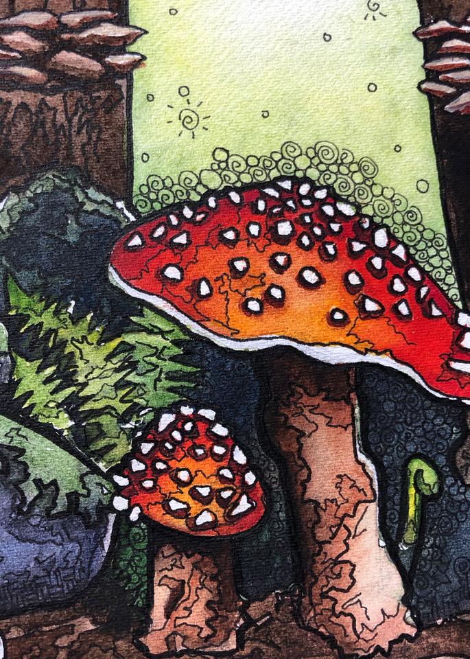 Shrooms Art | Water+Ink Studios