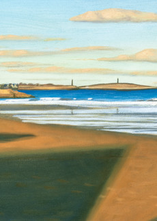 Long Beach Shadows Art   The Art of David Arsenault