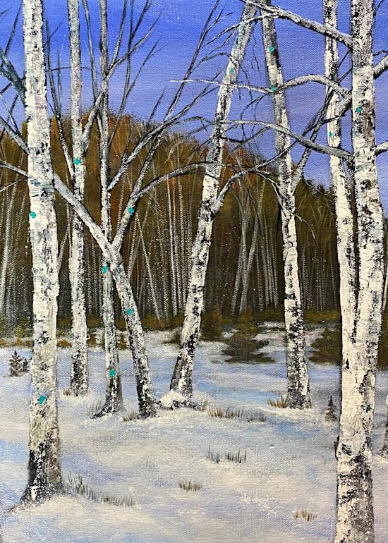 Winter Forest (Print) Art | Marissa Sweet