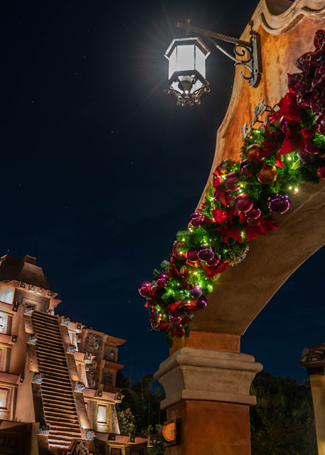 Epcot Christmas In Mexico Photography Art | William Drew Photography