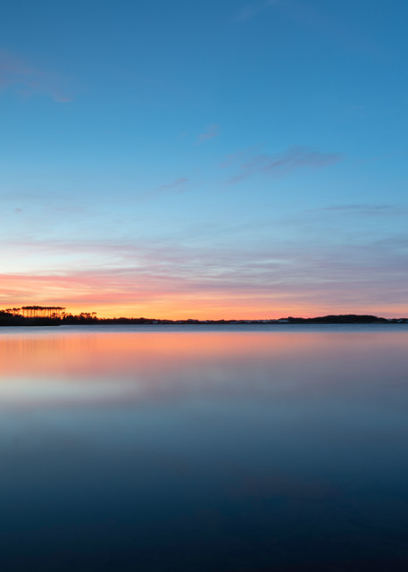 Western Lake Blue 2 Art   Modus Photography
