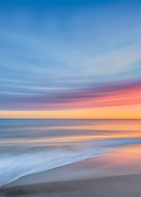 South Beach Pastel Sunset Art | Michael Blanchard Inspirational Photography - Crossroads Gallery