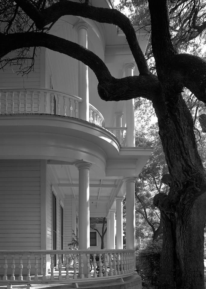 W. T. Wroe House, 1893, Austin, Texas (1975) Photography Art | Rick Gardner Photography