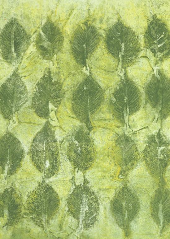 Green Art | Courtney Miller Bellairs Artist