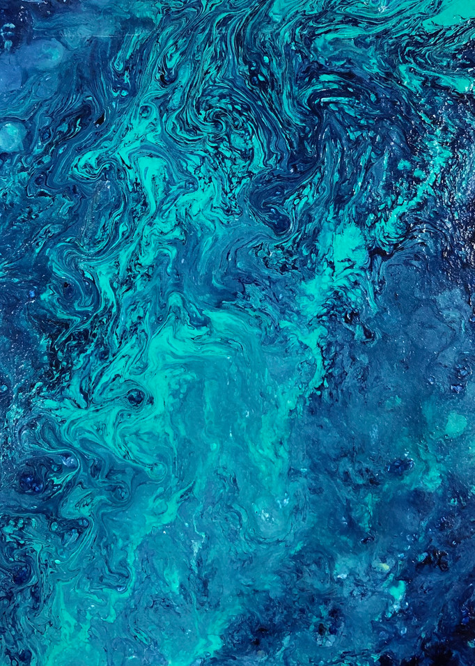 Seafloor Ii Art | Bonnie Carter