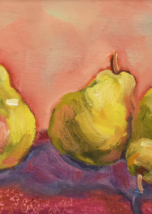 My Three Pears Art   KnottJust Art