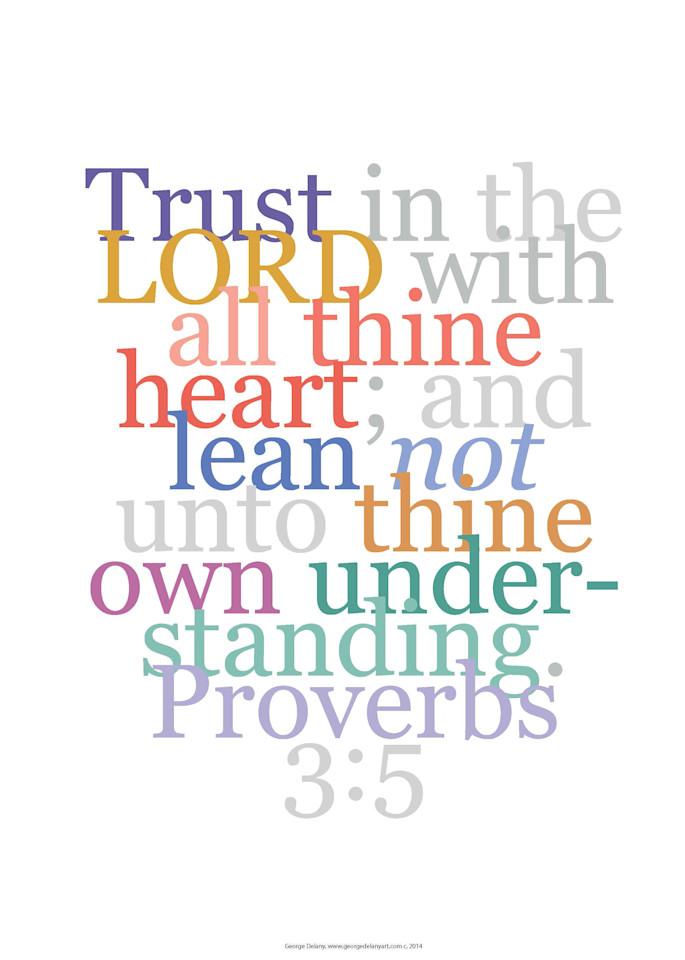 Proverbs 3:5 Faith Verse