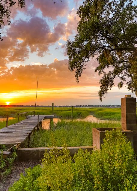 sunset-dock