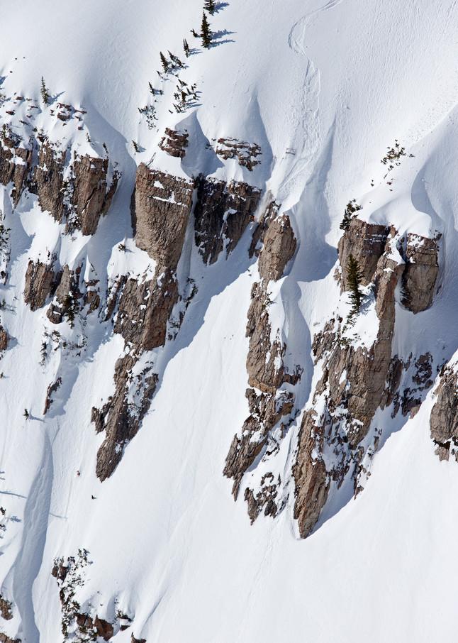 Bryce Newcomb, No Name Peak, Jackson Hole