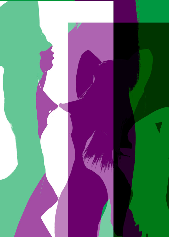 Abstract With Figure And Silhouette Photography Art | Christopher Grey Studios