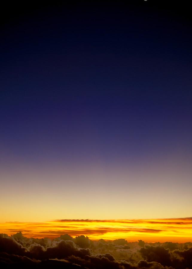 Sunrise from the Top of Haleakalā Volcano, Maui, Hawaii