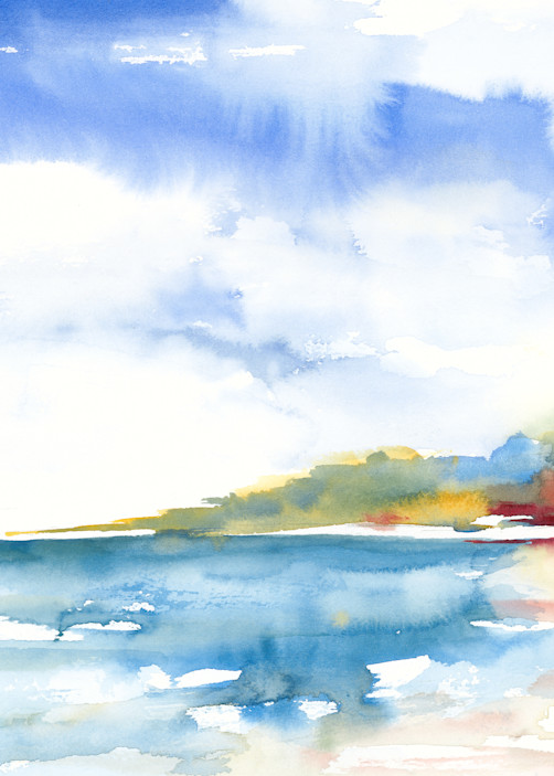 Beach Simplified Art | ArtByPattyKane