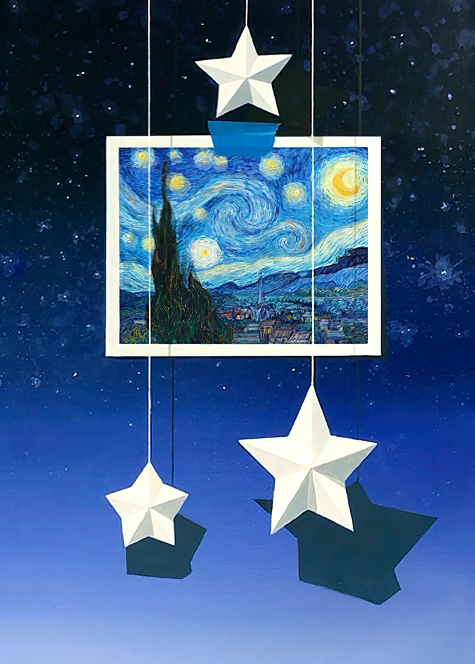 All The Stars Come Out To Play Art | Richard Hall Fine Art