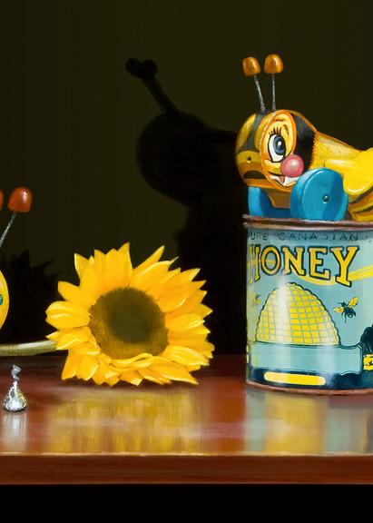 Bee My Honey Art   Richard Hall Fine Art