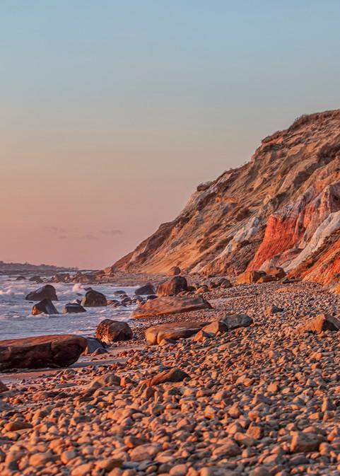 Gay Head Cliffs Winter Sunset Art | Michael Blanchard Inspirational Photography - Crossroads Gallery