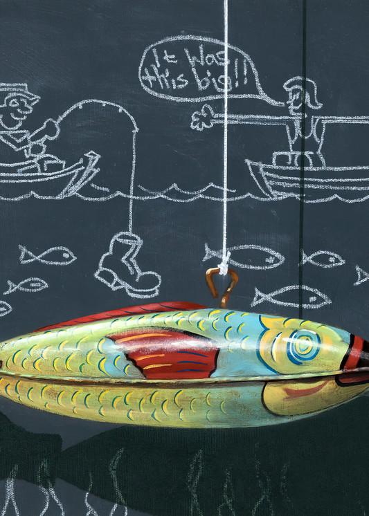 Fish Tales Art | Richard Hall Fine Art