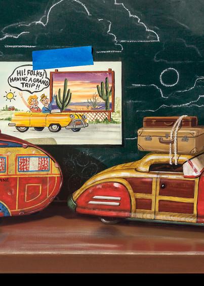 Grand Vacation Art | Richard Hall Fine Art