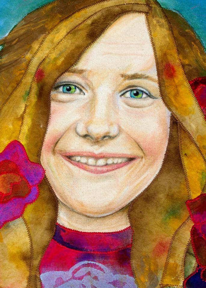 Janis Joplin Art   Karen Payton Art