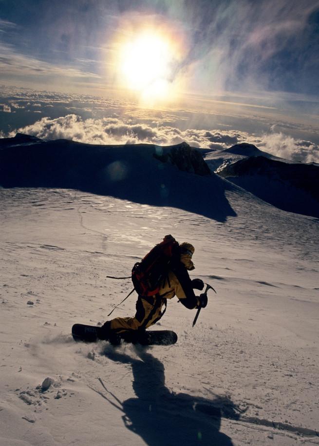 Summit of Denali, AK, Stephen Koch