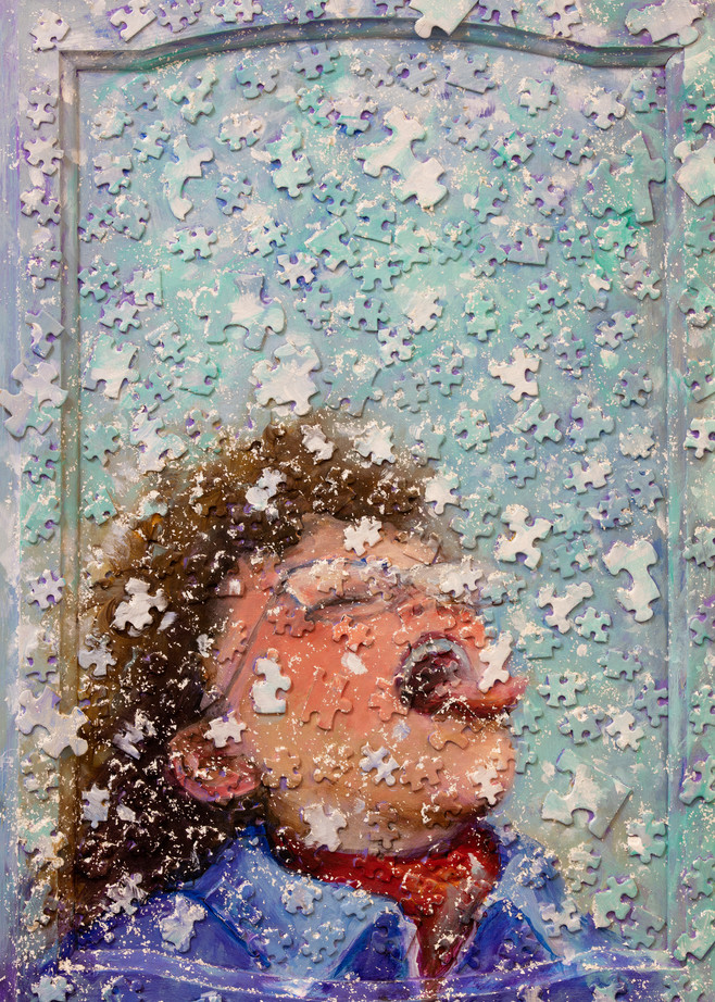 Catching Pieces Of Snow Art | darzart