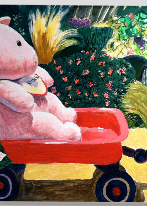 Sarge In The Garden  Art | Not specified