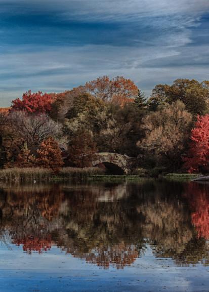Autumn at the Gapstow Bridge