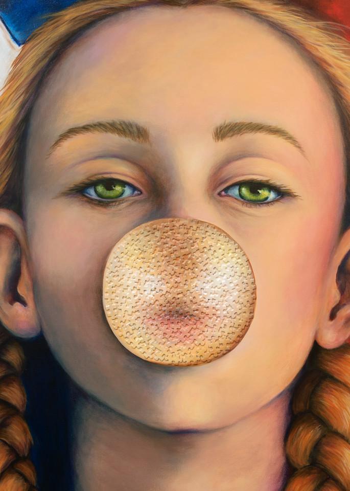 Jamie All American Girl Art | darzart