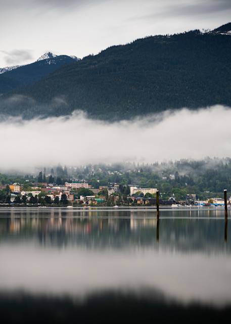 Tom Weager Photography - Nelson BC at dusk