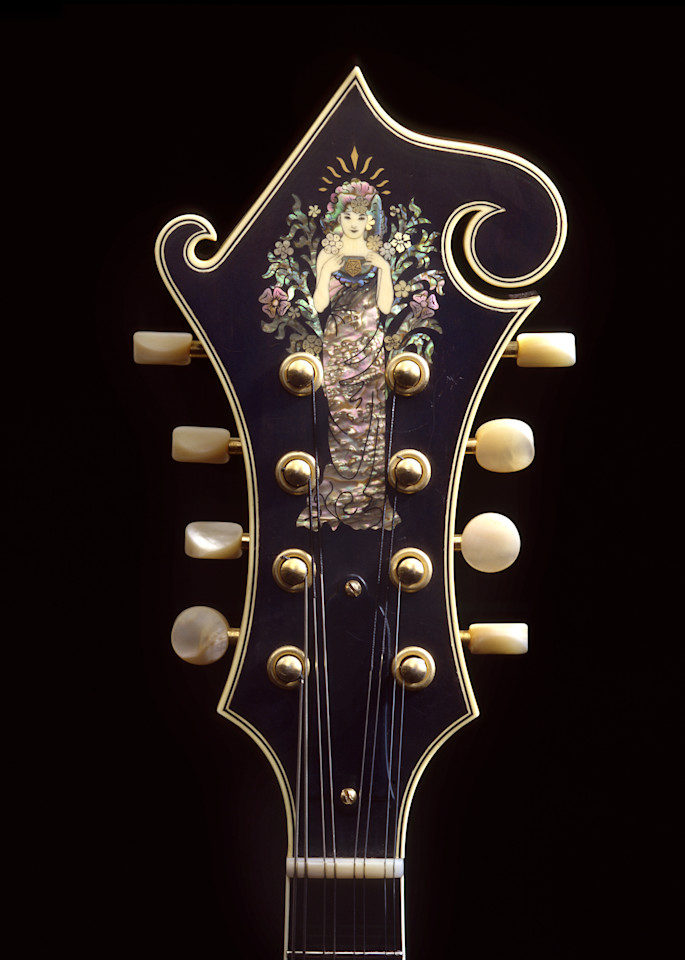 Dave Peter's Goddess Mandolin Photography Art | Rick Gardner Photography