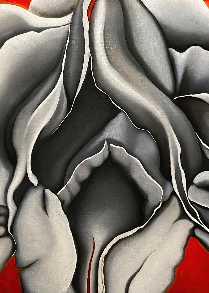 Iris No. 2, Print, 2020 by artist Carolyn A. Beegan