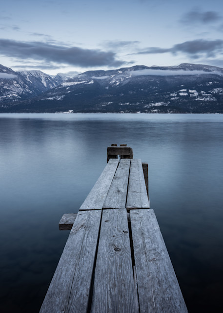 Tom Weager Photography - Shades of blue on Kootenay Lake