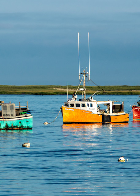 Three Boats Photography Art   The Colors of Chatham